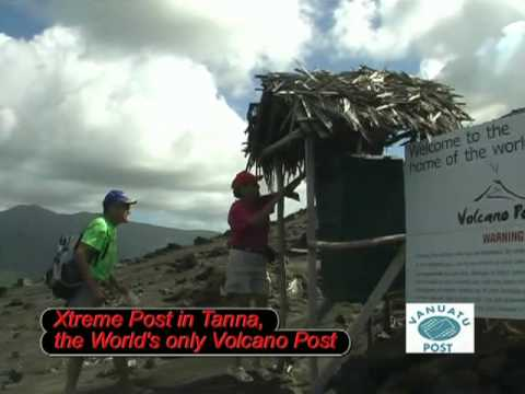 Vanuatu Extreme Post : Volcano