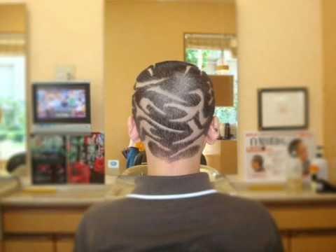 坊主ライン Hair design hair tattoo ...