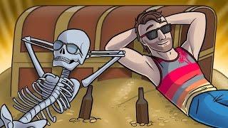 Pirate Ship Mini Golf! - Tower Unite Funny Moments