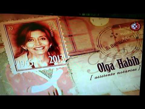 IN MEMORIAM TELEVISA 2013 - DANIELA ROMO - TU ESTAS AQUI