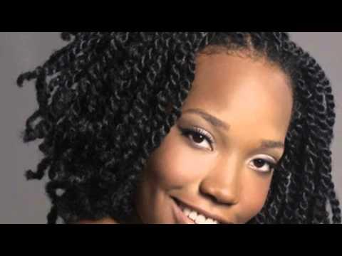 African American Hair Braiding - YouTube