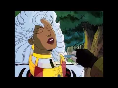 Gambit, Storm & Jubilee captured on Genosha - X-Men Animated Series 2/2