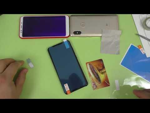 Клею оригинальную защитную пленку Сяоми на Xiaomi Redmi 5 ► ИДЕАЛЬНО!