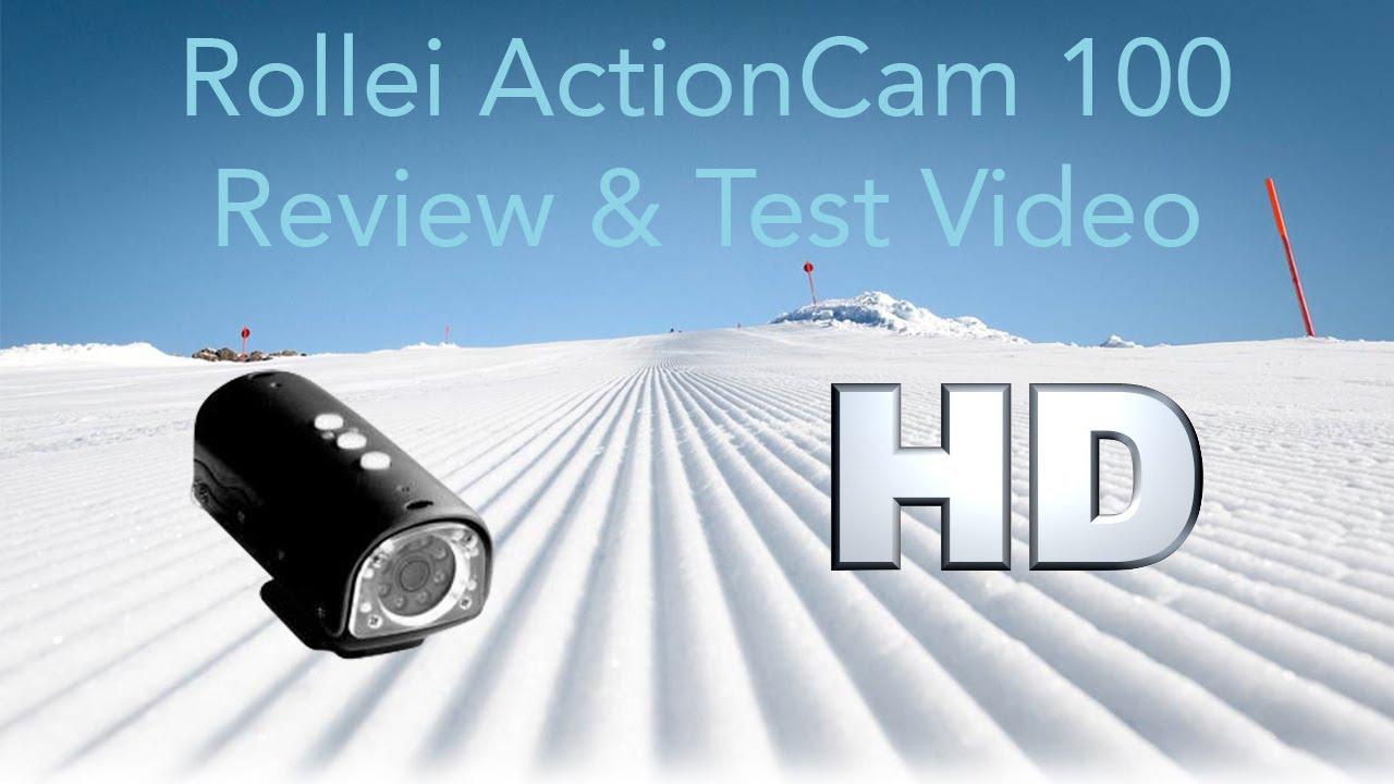 rollei actioncam 100 review test video deutsch hd