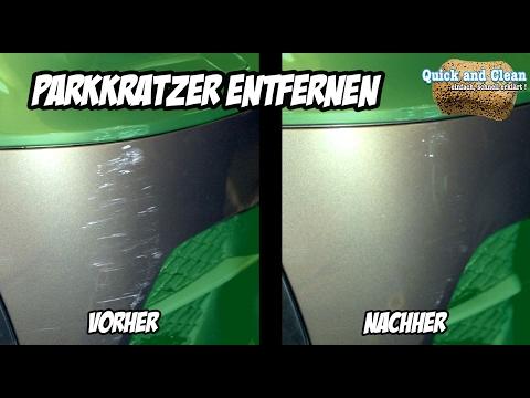 Anleitung: Auto polieren - Park Kratzer entfernen mit der Handpolitur | AUTOLACKAFFEN | Quick&Clean