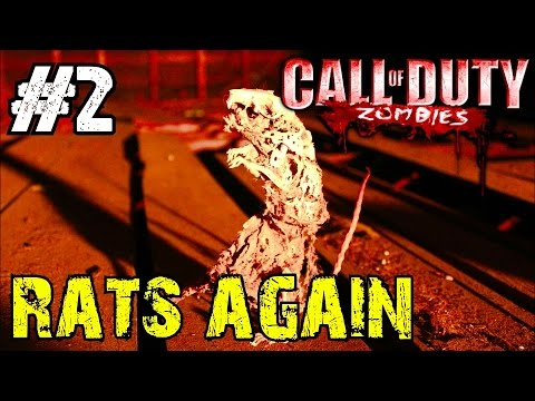 Call of Duty Custom Zombies: ZOMBIES ARE RATS!▐ Unlocking All the Soul Chests (Part 2)