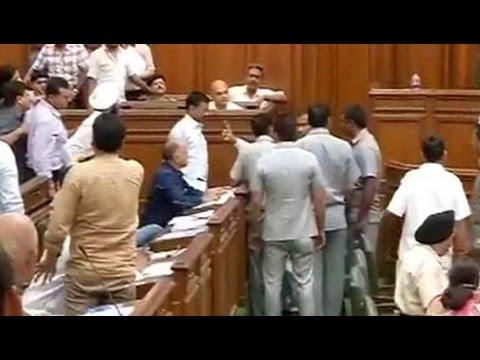 In Delhi assembly, Arvind Kejriwal's swipe at PM Modi on Lalit Modi row
