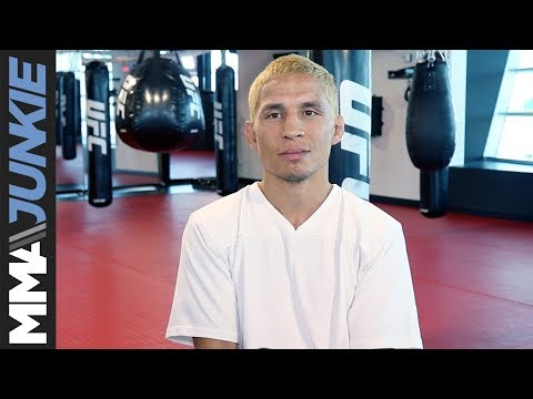 Joseph Benavidez UFC 225 media day in Las Vegas