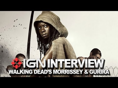The Walking Dead - David Morrissey and Danai Gurira Interview - NYCC 2012