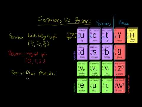 Fermions Vs. Bosons - What Are They?