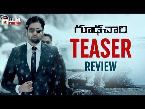 Goodachari TEASER Review | Adivi Sesh | Sobhita Dhulipala | Prakash Raj | #Goodachari |Telugu Cinema