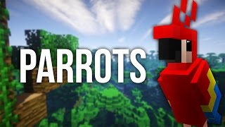 How to Get a Parrot in Minecraft