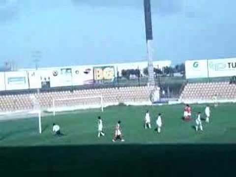 Alverca 0-6 Benfica (Juniores) 24.02.2007 Yu Dabao faz o sexto golo do jogo.