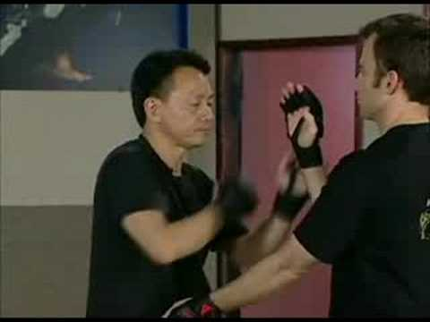 Sifu Chow Sticky Hands, initiating moves