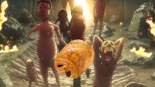 Parodie l'Attaque des titans #1 - Les petites chocolatines d'Eren