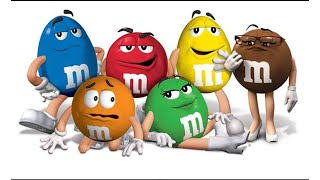 Learn colors with m&m's and nursery rhymes children song