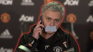 Why have Manchester United GAGGED Jose Mourinho? The Football Terrace