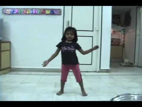 chandu ke chacha ne chandu ki chachi.. dance by Shloka