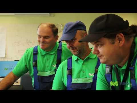 Távhőszerelő verseny 2019- MI-HÖSÖK videója