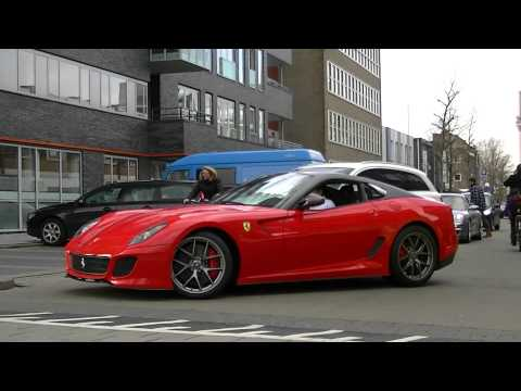 New Ferrari 599 GTO V12 Extreme Sound w/ Downshift !