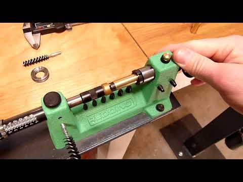 Redding 2400 Case Trimmer - Trimming Pistol  (HD)