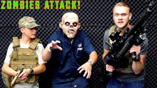 Airsoft War: Zombies Attack The Evike Superstore!