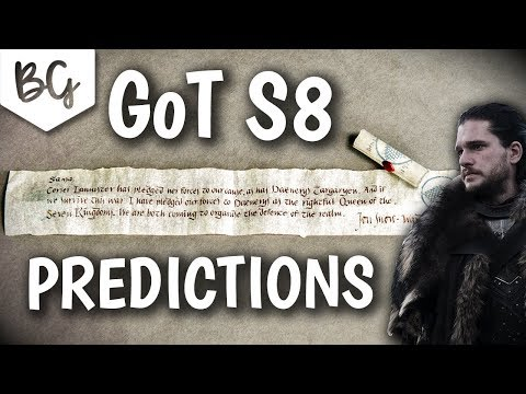 Game Of Thrones Season 8 Predictions Plot Ideas