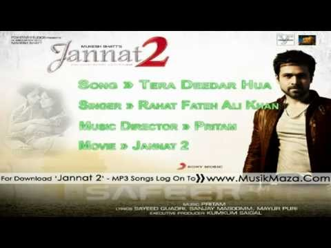 'Tera Deedar Hua' - Full Song _HD_ - _Jannat 2 - Rahat Fateh Ali Khan