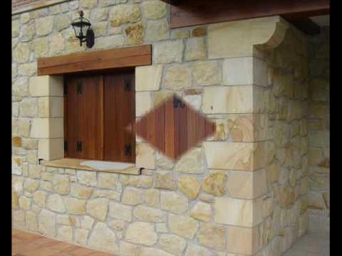 Casas de piedra arenisca youtube for Fachadas rusticas de piedra y ladrillo
