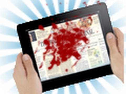 Bloody Ipad Prank