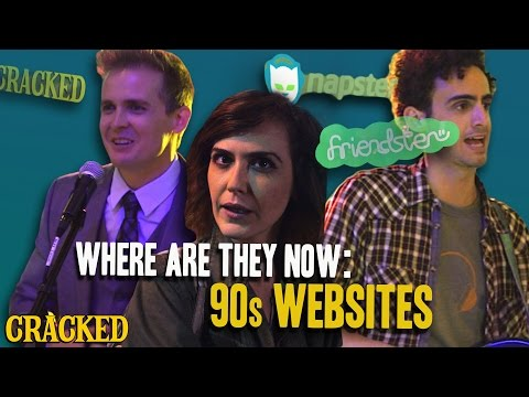 Where Are They Now: 90s Websites