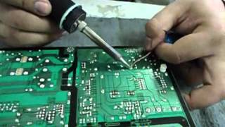 REPARANDO TV LCD 42 SAMSUNG