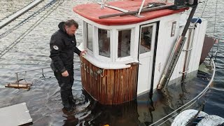 Salvage of Norwegian wooden fishing boat (Glimt - Part 1)