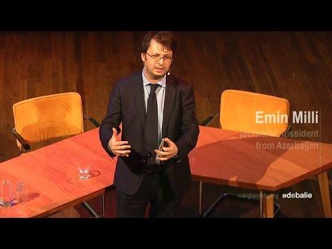 Freedom Lecture: Emin Milli (Azerbaijan) - Vrijheidslezing #10