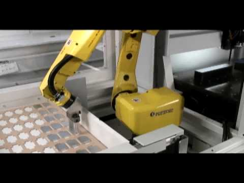 DATRON CNC with Fanuc Robot Arm