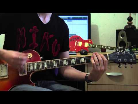 Bruno Mars - Locked Out Of Heaven (full Electric Guitar Cover) video