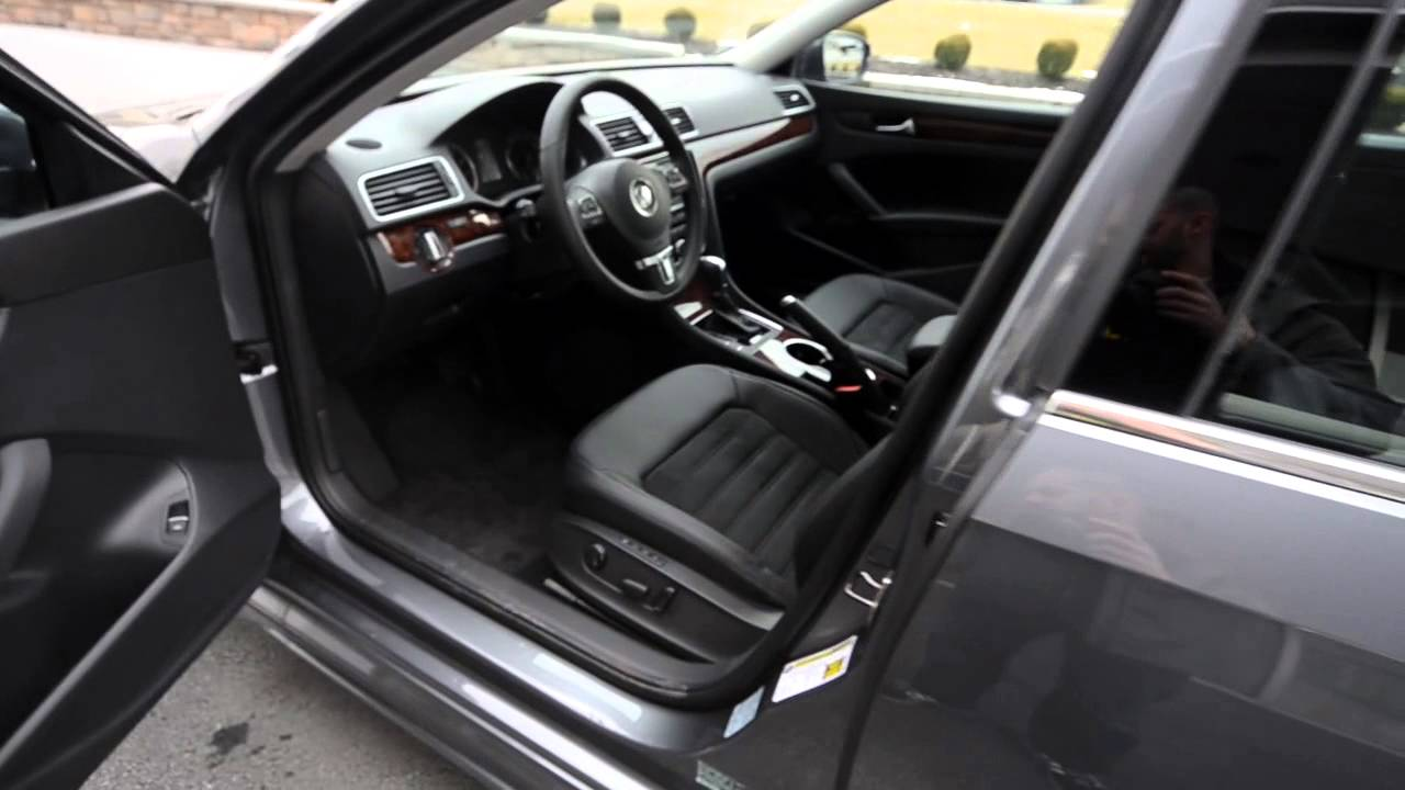 2013 Volkswagn Passat Sel Premium W Body Styling At Trend