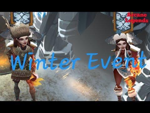 Arcane Legends | Winter Event [BROKE]