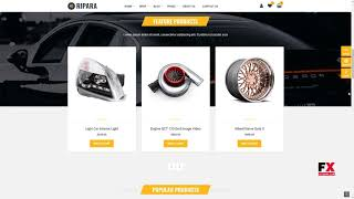Ripara - Auto Repair and Car WooCommerce WordPress Theme      Gregg K