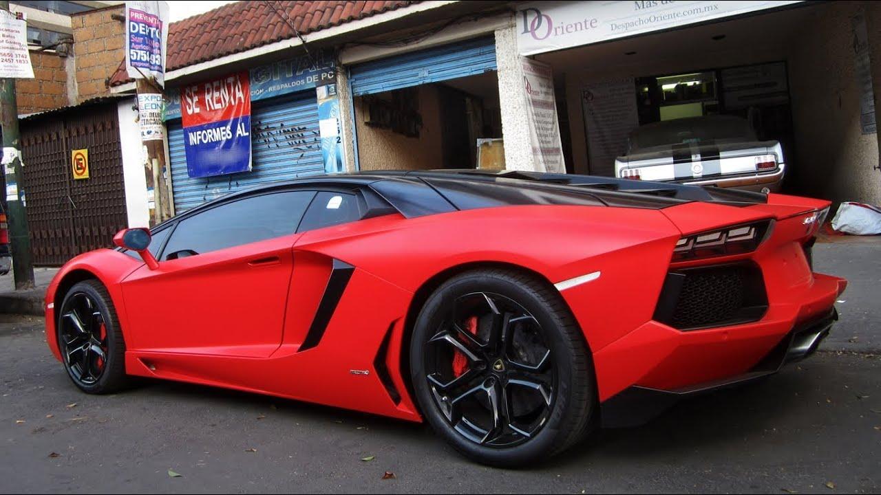 Lamborghini Aventador Lp700 4 M 233 Xico Df Youtube