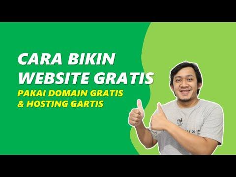 Cara Membuat Website dengan Domain dan Hosting GRATIS