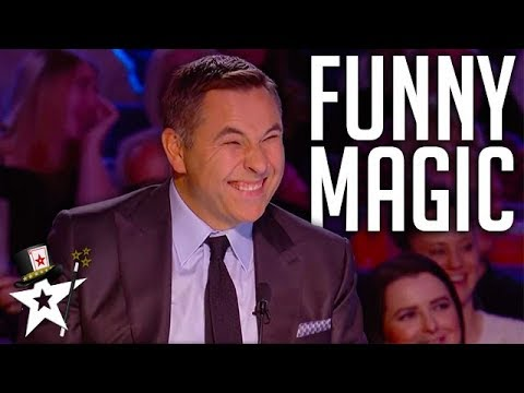 Download FUNNIEST Magicians EVER On Got Talent | Magicians Got Talent Mp4 baru