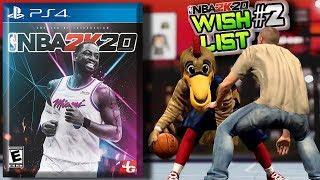 NBA 2K20 WISHLIST #2 Gameplay, Lob Posterizers, Tattoos & More