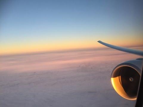 Emirates 777-300ER Business Class Flight Experience: EK25 Dubai to Glasgow +  Business Class Lounge
