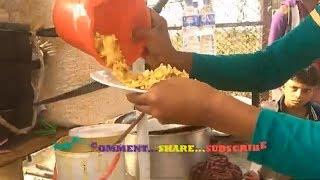 Kolkata Style street food making muri vorta#Favourite Exciting Masala Muri#Fushka with Muri  Makha