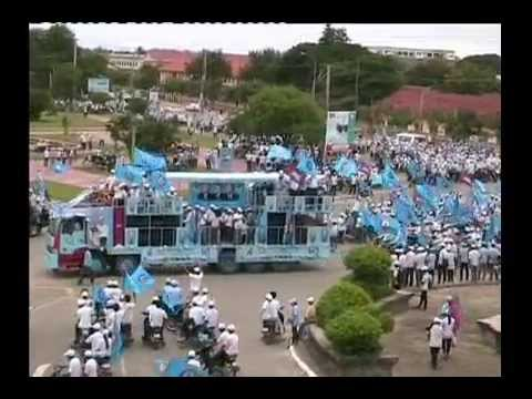 Election Campaign 2013 Organized by the Youth of (CNRP) and (CPP)