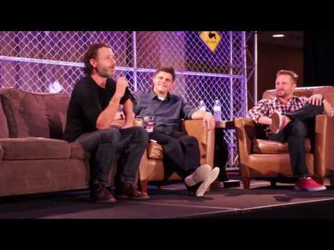 Walker Stalker Con 2013 - Andrew Lincoln Panel