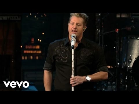 Rascal Flatts - I Won't Let Go (Live On Letterman)