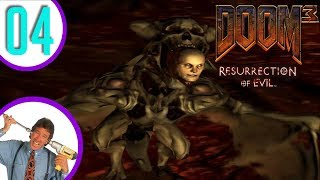 Let's Play Doom 3 Resurrection of Evil Episode 4: A Bonehead Infestation