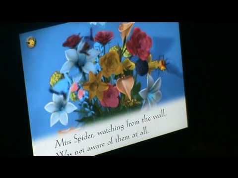 Apple iPad children's book app Miss Spider UK  Read by Narrator